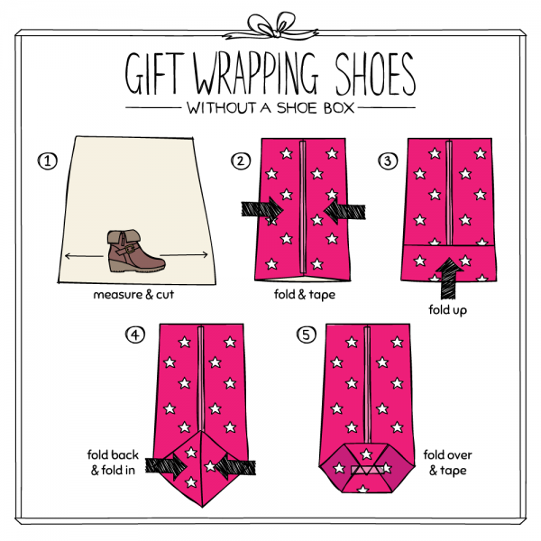 How To Gift Wrap Shoes Shoe Zone Blog