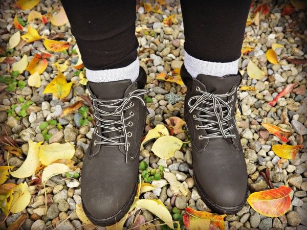 Styling Lace Up Boots for Autumn