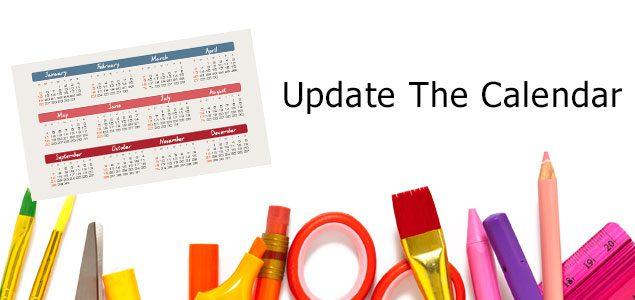 update-the-calendar
