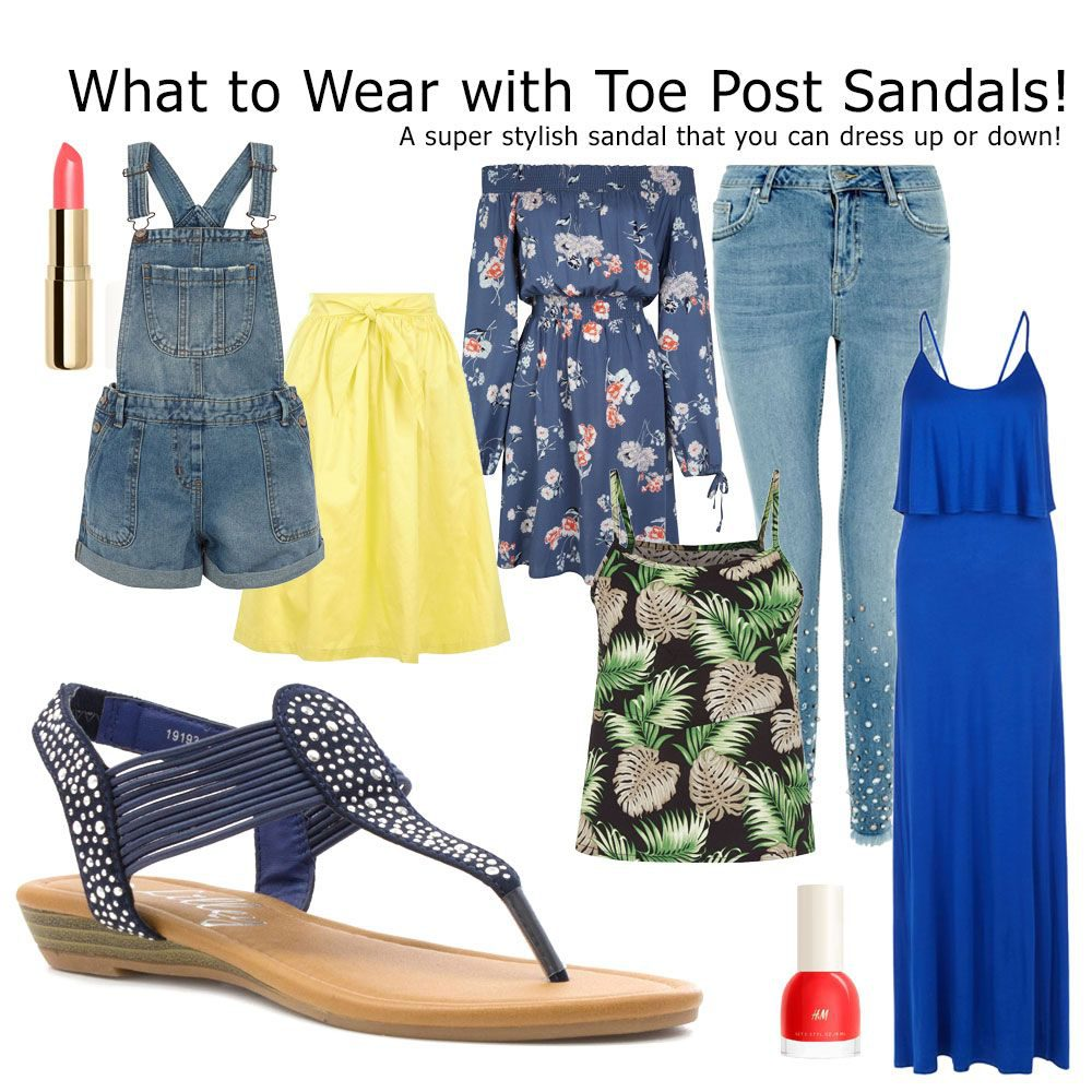 how-to-wear-toe-post-sandals