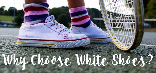 why-choose-white-shoes