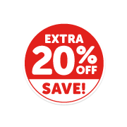 Extra 20 off Save (Click For Details)