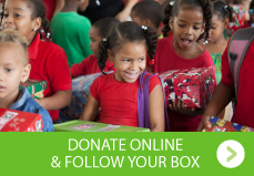 Donate online & Follow your box
