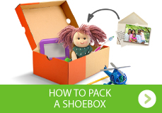 How to pack a shoebox