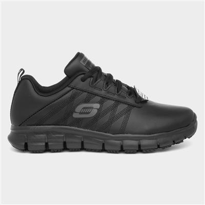 Work Sure Track Erath Womens Black Shoe