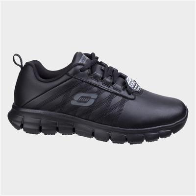 Sure Track Erath Lace Up Shoe in Black