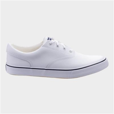 Byanca Lace Up Trainer in White