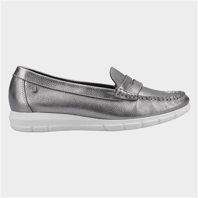 Paige Slip On Loafer in Metallic