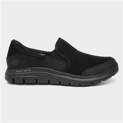 Work Cozard Sr Womens Shoe in Black