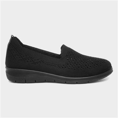 Leanne Womens Black Shoe