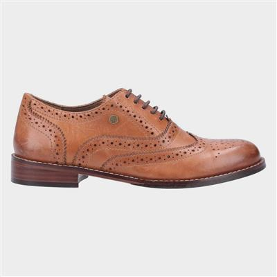 Womens Natalie Tan Leather Shoes