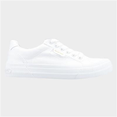 Womens Cheery Lace Shoe in White