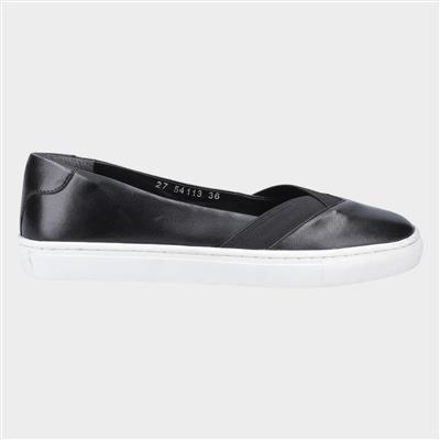 Womens Tiffany Slip On Shoe in Black
