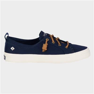 Womens Crest Vibe Canvas Shoe in Navy