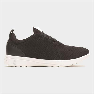 Good Womens Lace Up Shoe in Black