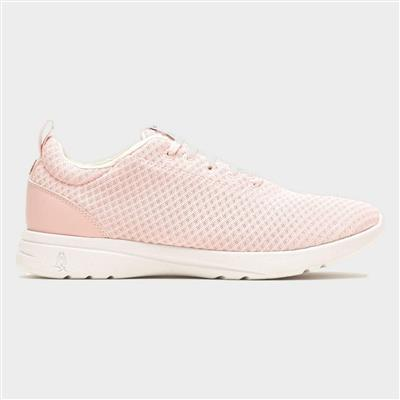 Good Womens Lace Up Shoe in Pink