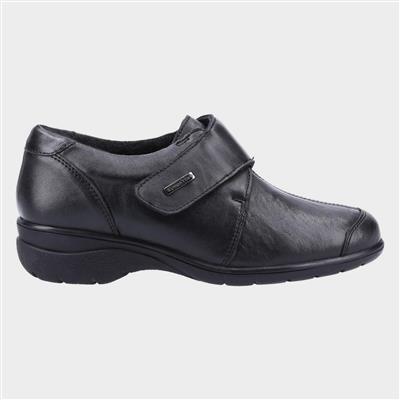 Cranham Womens Black Leather Shoe