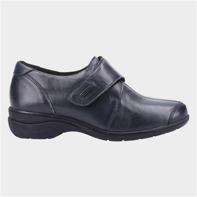 Cranham Womens Navy Leather Shoe