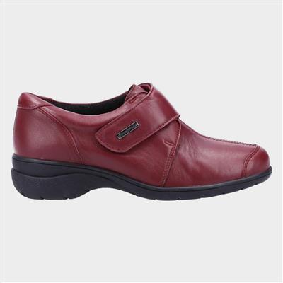 Cranham Womens Red Leather Shoe