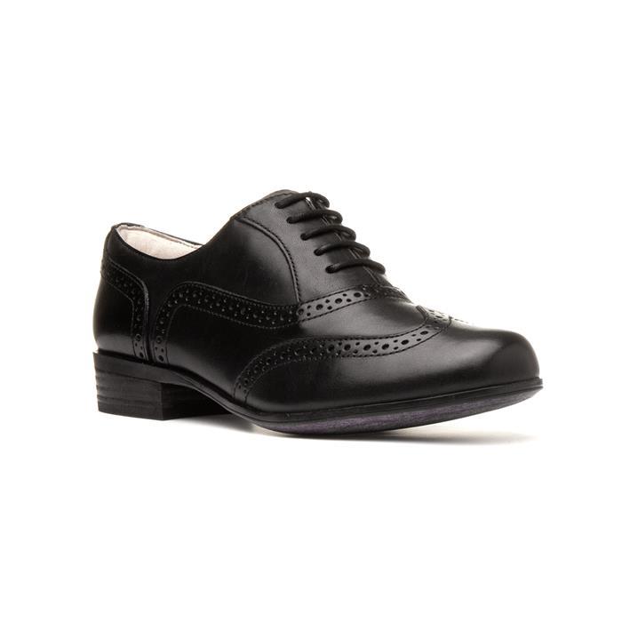 1940s Women's Footwear Clarks Womens Hamble Oak Black Brogue £59.99 AT vintagedancer.com