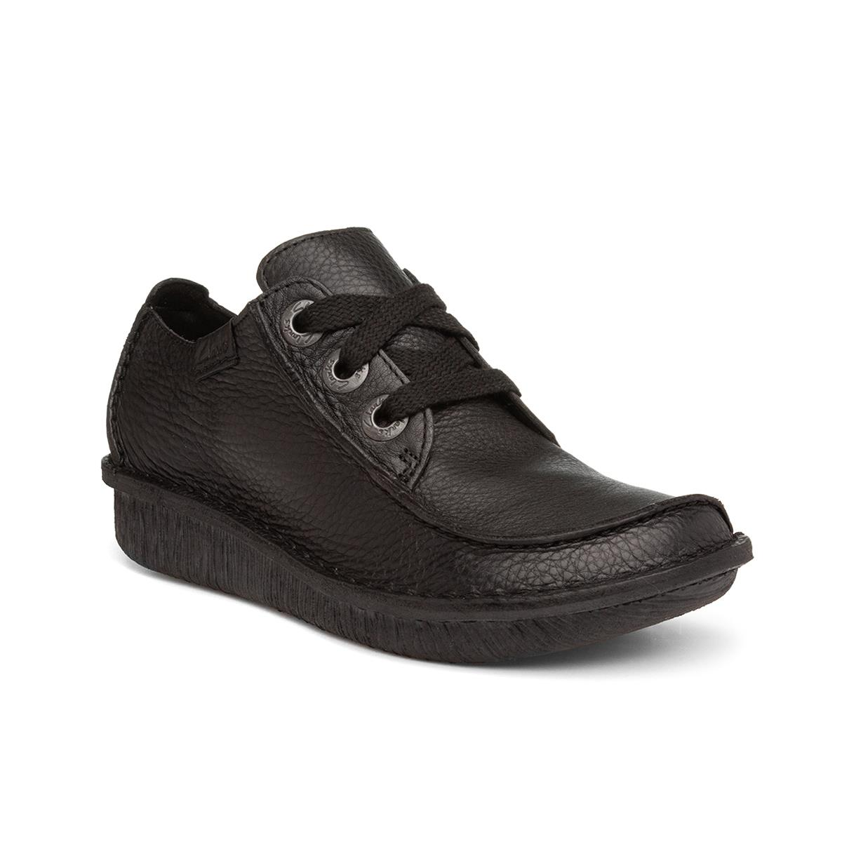 Clarks Funny Dream Womens Black Lace Up