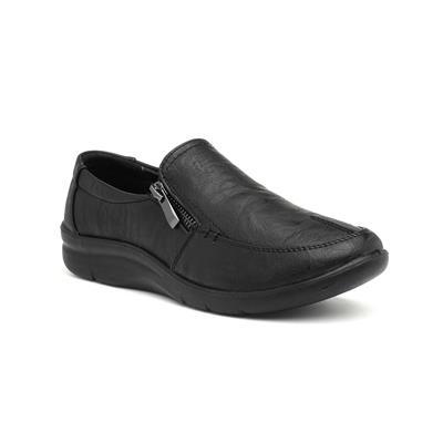 Jacky Womens Black Slip On Shoe