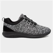 Lilley Women Black & White Sporty Shoe (Click For Details)