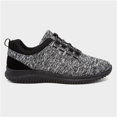 Women Black & White Sporty Shoe