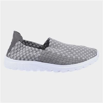 Sharon Womens Casual Shoe in Grey