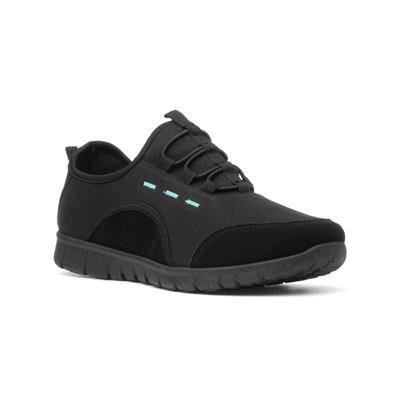 Womens Black Speed Lace Trainer