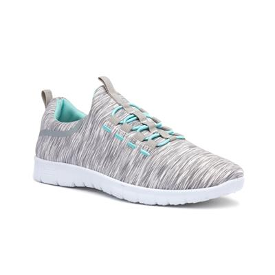 Womens Grey Speed Lace Trainer