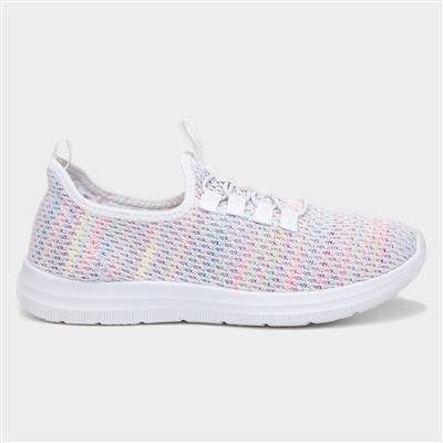 Womens Multi-Colour Bungee Lace Trainer