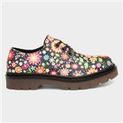 Heavenly Feet Liberty Womens Black Floral Shoe (Click For Details)