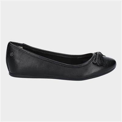 Womens Heather Bow in Black