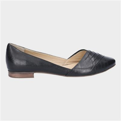 Marley Womens Leather Shoe in Black