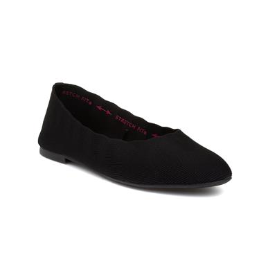 Cleo Bewitched Womens Black Flat Shoe