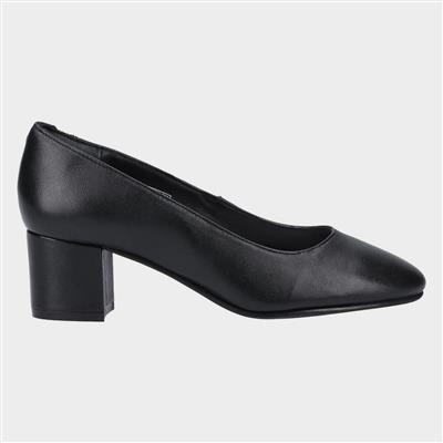 Anna Slip On Court Shoe in Black
