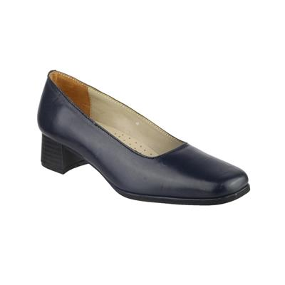 Womens Walford Leather Court in Blue