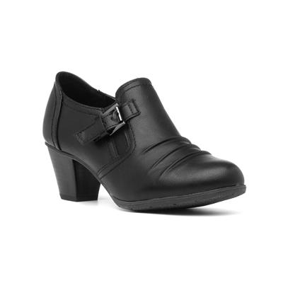 Patsy Womens Black Court Shoe