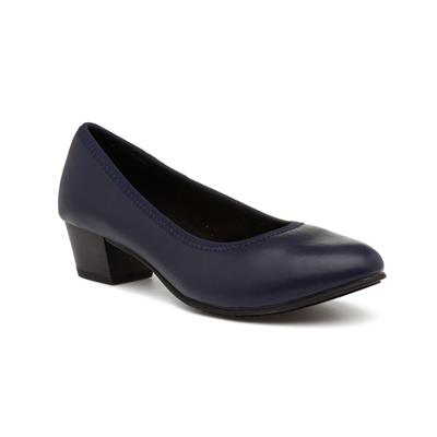 Womens Navy Court Shoe