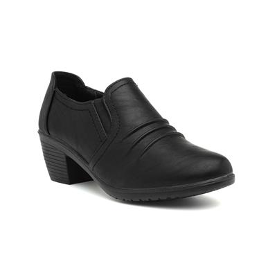 Lara Womens Black Court Shoe