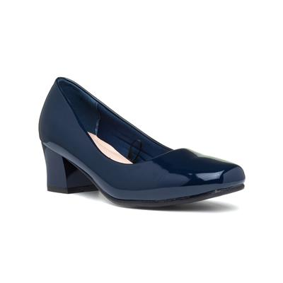 Karly Womens Navy Wider Fit Shoe
