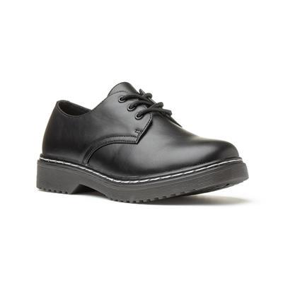 Womens Black Lace Up Shoe
