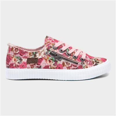 Coyote Womens Pink Floral Canvas