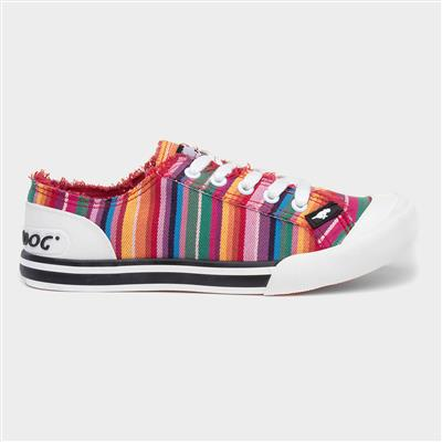 Jazzin Womens Lace Up Canvas