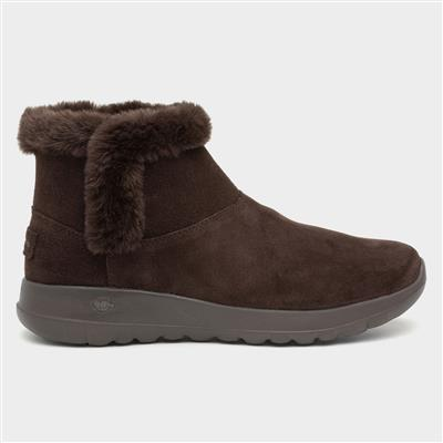 On-The-Go Joy Bundle Up Brown Boot