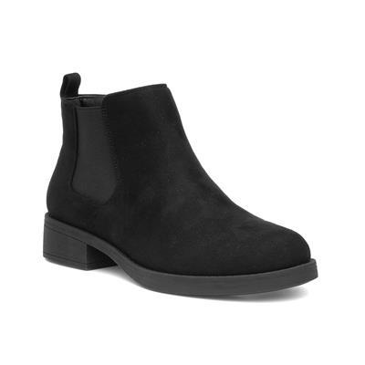 Womens Black Chelsea Boot