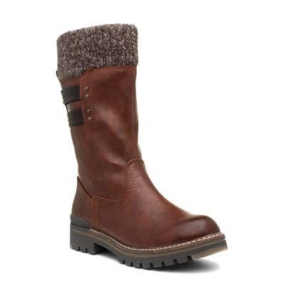 Womens Brown Calf Boot