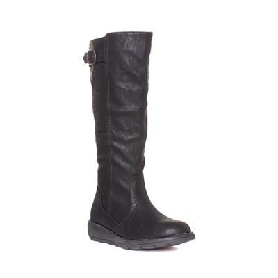 Saturn Womens Black Long Leg Boot