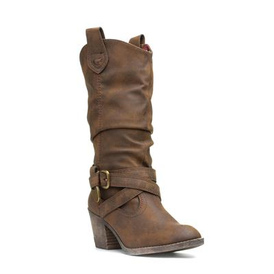 Graham Womens Sidestep Brown Boot